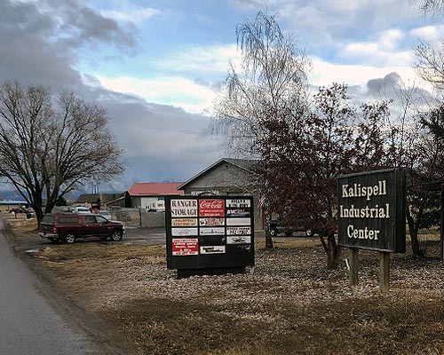 Ranger Storage - Kalispell Storage Units Location and Turn Off  HWY 93